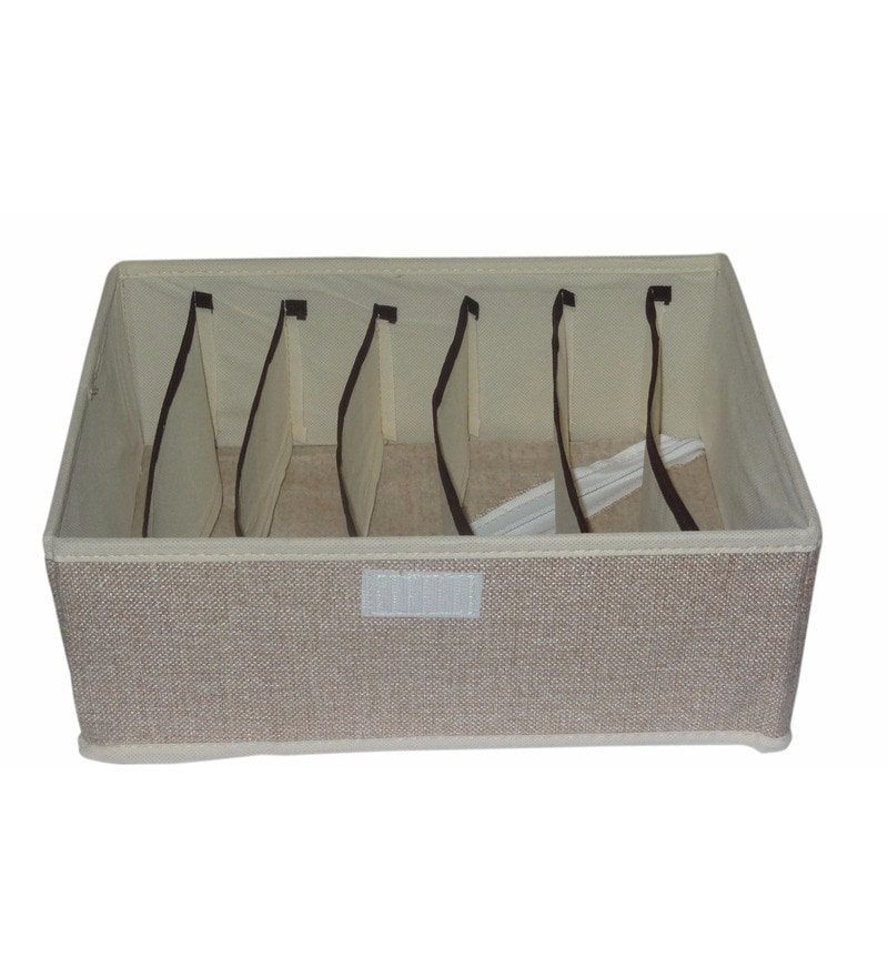 Cotton Clothes Organiser by Decorika