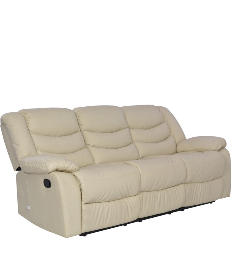 Buy Denver Three Seater Recliner in Beige Colour by Durian Online - Three Seater - Recliners - Pepperfry  sc 1 st  Pepperfry & Buy Denver Three Seater Recliner in Beige Colour by Durian Online ... islam-shia.org