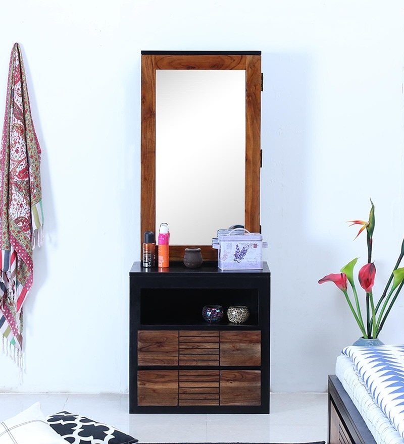 Deux Dressing Table in Dual Tone Finish by Woodsworth