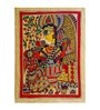 Handmade Paper 11 x 15 Inch Goddess Of Wisdom Painting by De Kulture Works