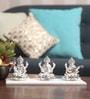 Silver Plated Terracotta Idol by Decardo