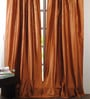 Deco Window Red Polyester 50 x 96 Inch Door Curtain - Set of 2