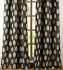 Deco Window Sage Polyester 42 x 96 Inch Door Curtain - Set of 2