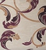 Wine Polyester 46 x 90 Inch Door Curtain - Set of 2 by Deco Window