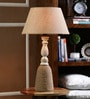 Natural Jute Table Lamp by The Decor Mart