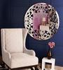 Renaissance Mirrors Multicolour MDF Asymmetrical Shaped Border Decorative Mirror