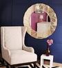 Renaissance Mirrors Multicolour MDF Circular Decorative Mirror
