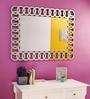 Renaissance Mirrors Multicolour MDF Decorative Glass Mirror