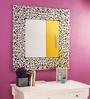 Renaissance Mirrors Multicolour MDF Square Decorative Mirror