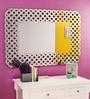 Renaissance Mirrors Multicolour MDF Woven Trellis Border Decorative Mirror