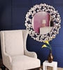 Renaissance Mirrors Multicolour MDF Droplets Design Border Decorative Mirror