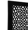 Black Mango Wood Carving Room Divider by Decorhand