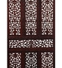 Brown Mango Wood Carving Room Divider by Decorhand