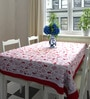 Decotrend Multicolour 100% Cotton Table Cloth with Border