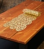 Decotrend Rose Golden Synthetic PU Table Runner