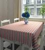 Decotrend Stripes Multicolour 100% Cotton Table Cloth