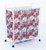 Deneb Polyester 50 L Dual Laundry Trolley