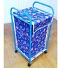 Deneb Steel 20 L Medium Dual Laundry Trolley