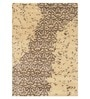 Designs View Mocha Wool & Viscose 60 x 96 Inch Hand Tufted Impression Design Carpet