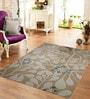 Designs View Mustard Wool & Cotton 48 x 72 Inch Hand Tufted Dalia Design Carpet
