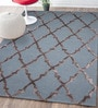 Navy Blue Wool & Viscose 60 x 96 Inch Hand Tufted Kohinoor Carpet by Designs View