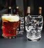 Devnow Circleware 500 ML Skull Beer Mug