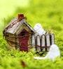 Deziworkz Brown Wooden Bird House