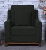 Diego One Seater Sofa in Charcoal Grey Colour