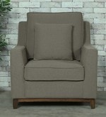 Diego One Seater Sofa in Sandy Brown Colour
