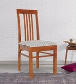 Dining Chair in Matte Walnut Finish
