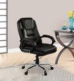 DIR Medium Back Executive Chair in Black Colour