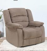Divine One Seater Recliner in Brown Colour