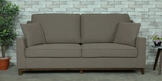Diego Three Seater Sofa in Sandy Brown Colour