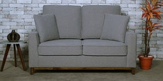 Diego Two Seater Sofa in Ash Grey Colour