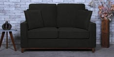 Diego Two Seater Sofa in Charcoal Grey Colour