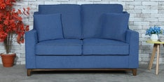 Diego Two Seater Sofa in Denim Blue Colour
