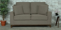 Diego Two Seater Sofa in Sandy Brown Colour