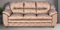 Dilly Three Seater Sofa in Golden Colour