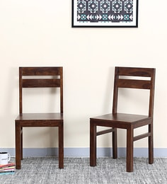 Enkel Dining Chair (Set Of Two) In Provincial Teak Finish