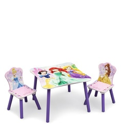 Disney Princess Table & Chairs Set In Multi Color
