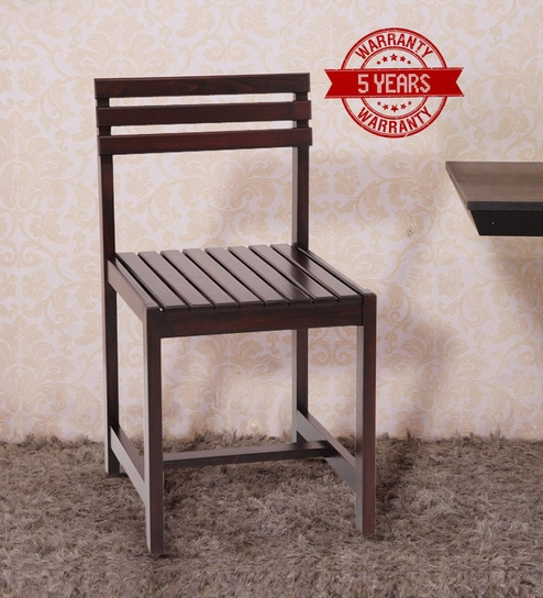 Dining Chair In Ebony Finish By Ekbote Furniture