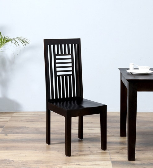 Eileen Dining Chair In Warm Chestnut Finish By Woodsworth
