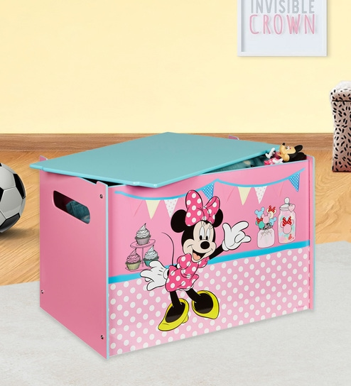 Phenomenal Disney Minnie Mouse Storage Box In Pink By Cot Candy Creativecarmelina Interior Chair Design Creativecarmelinacom