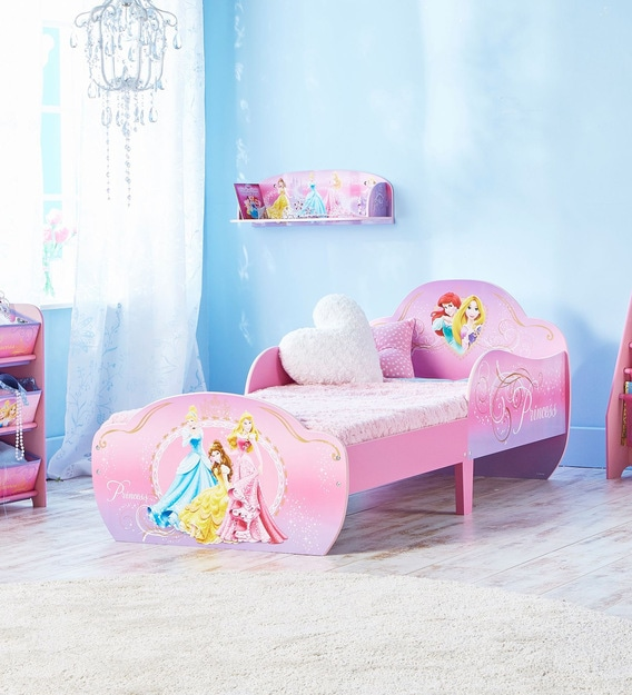 Buy Disney Princess Toddler Bed with Under Bed Storage in ...