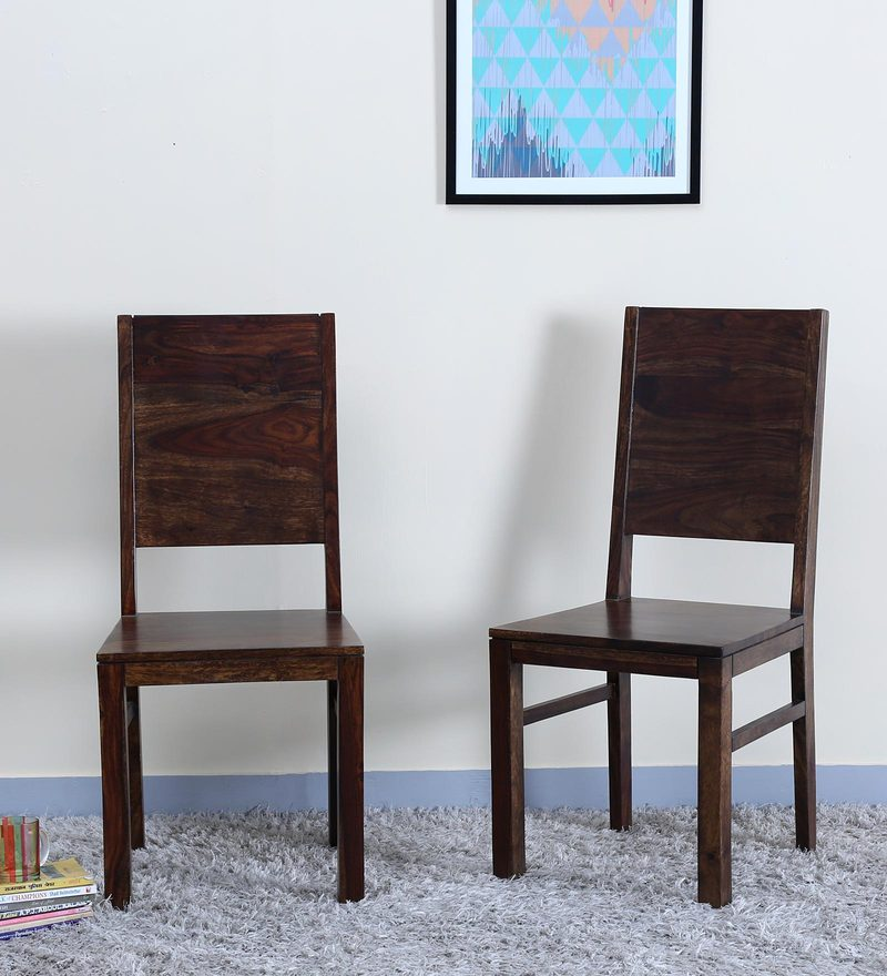 Oriel Dining Chair (Set of 2) in Provincial Teak Finish by Woodsworth