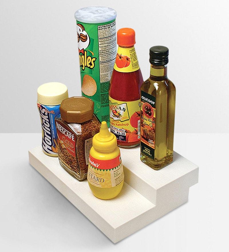 Disha Kitchen Cupboard Space Organiser (2 Step, Single Piece)