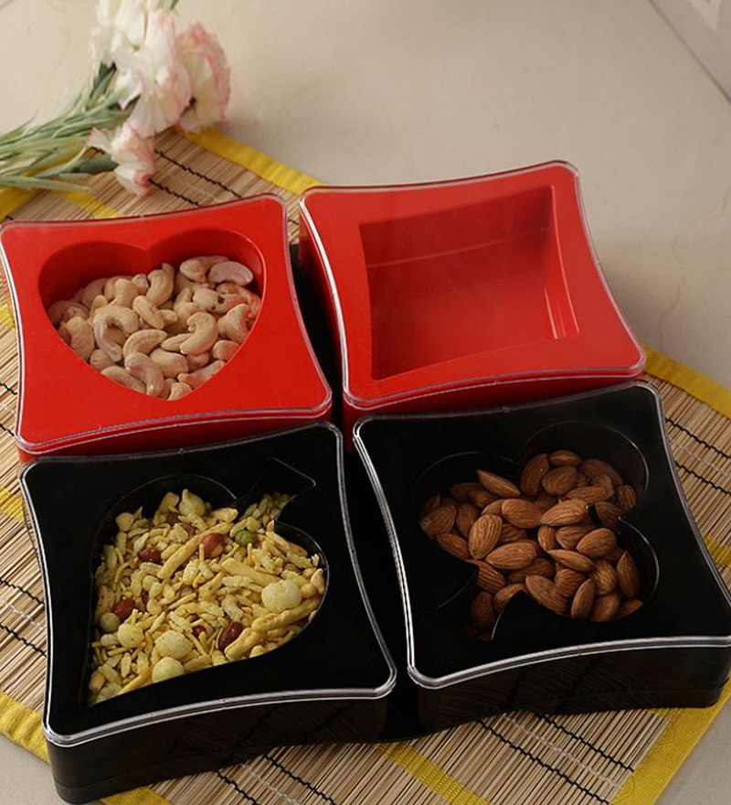 Disha Plastic Snack & Fruit Bowls