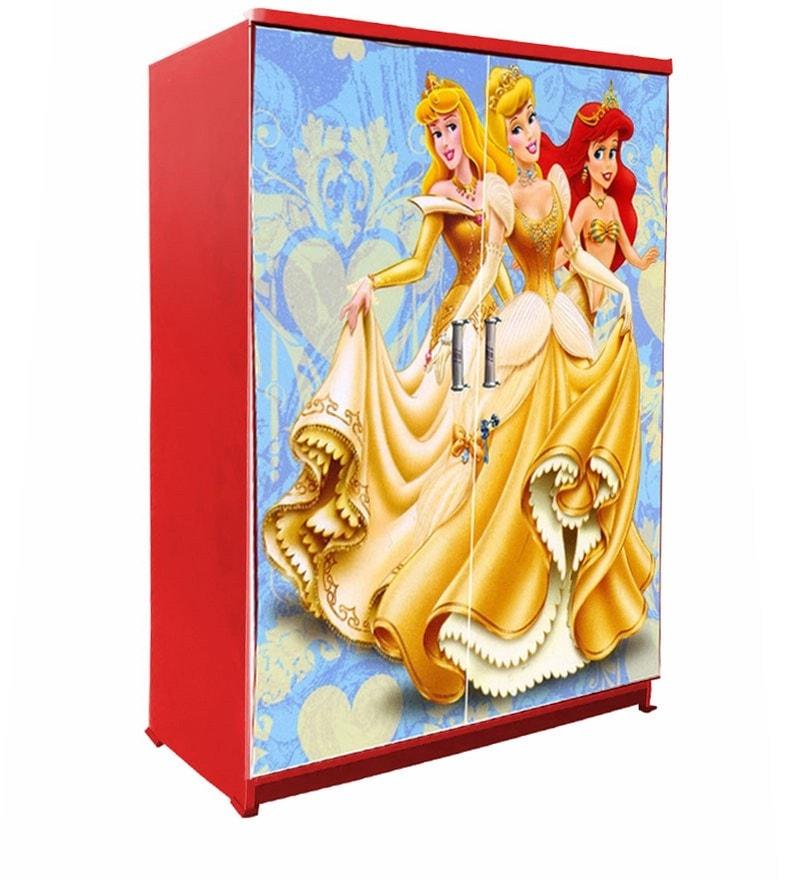 04b90e49f Buy Disney Princess Kids Wardrobe in Red Colour by BigSmile ...