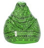 Digital Printed XL Bean Bag Cover without Beans with Green Pattern by Can