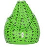 Digital Printed XL Bean Bag Cover without Beans with Triangle Design by Can